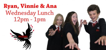 Wednesday Lunch with Ryan, Vinnie & Ana